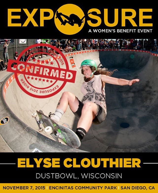 Elyse Clouthier confirmed for EXPOSURE 2015!
