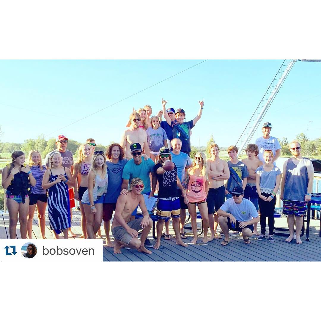 #Repost @bobsoven ・・・ The @liquidforcewake #RelentlessWeekend riders! Thanks @kcwatersports for hosting!
