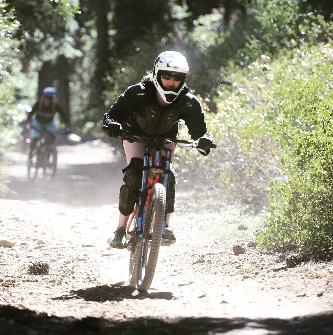 FEAR: Forget Everything And Ride.  Send It fighters shred mtn bikes on the inaugural Send It adventure last weekend in Lake Tahoe #sendit #senditfoundation #strongerthancancer #movementislife