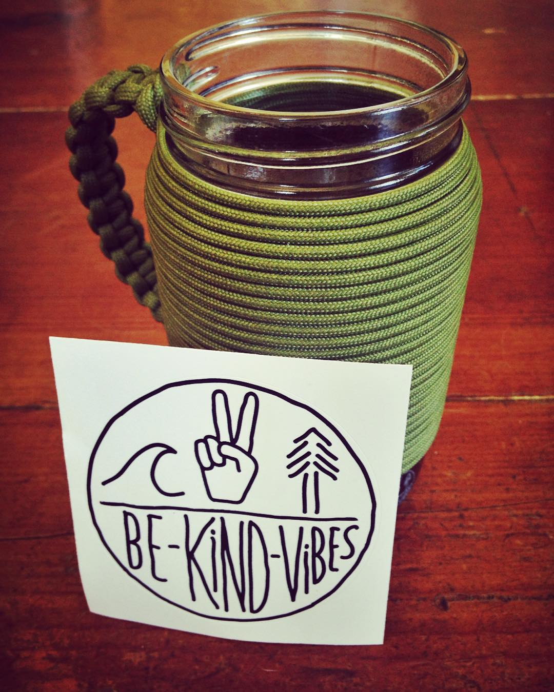 ~ Coffee Day ~  We're enjoying national coffee day with our @khordzmugs x @bekindvibes collab adventure mug, and a fresh batch of stickers.  Every order now comes with a couple stickers so you can help us inspire the vibes, and grow our Tribe of...