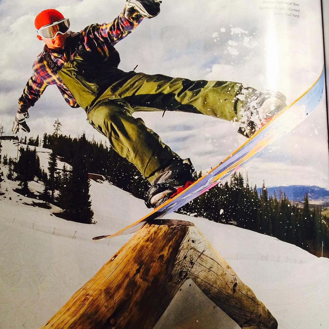 @winterparkresort local Ben Berberich was putting the Team series to work at the @twsnow Good Wood Test!  Grab the new #gearguide and check it out!