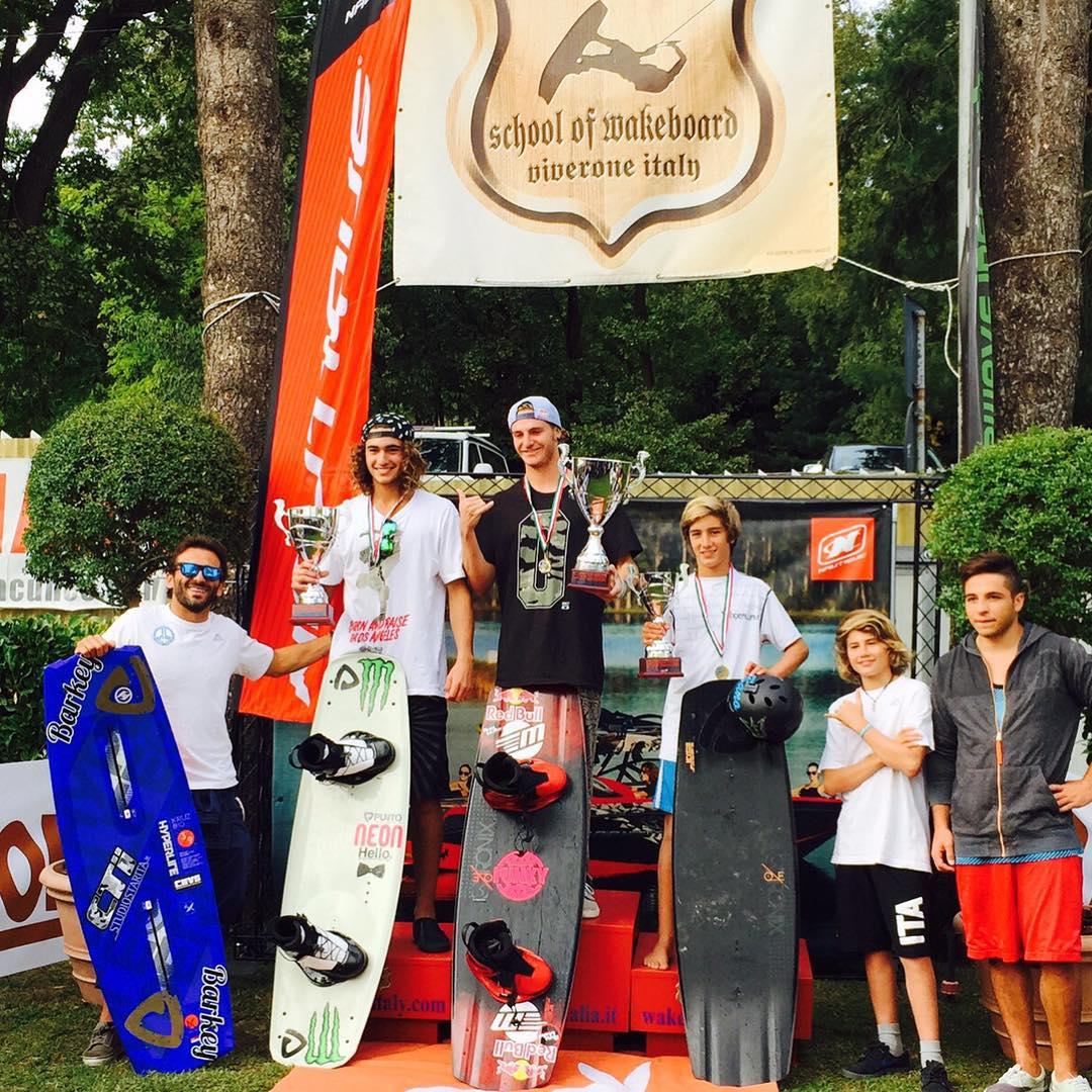 Congrats to @massipiffa Italy's National Champ. A congrats to @nicocaimi @banish124 for making it a Ronix podium. #ronixlove #ronix2016 #theoneboard #oneloveinwake #fortifiedwithlakevibes