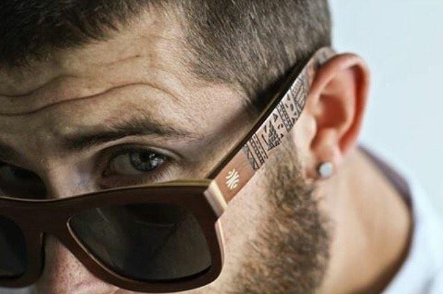 Team skier Hugues Rousseau sporting the latest Tim Marsh V2 frames! #sunglassesswag #customized #eyewear #graphicdesign