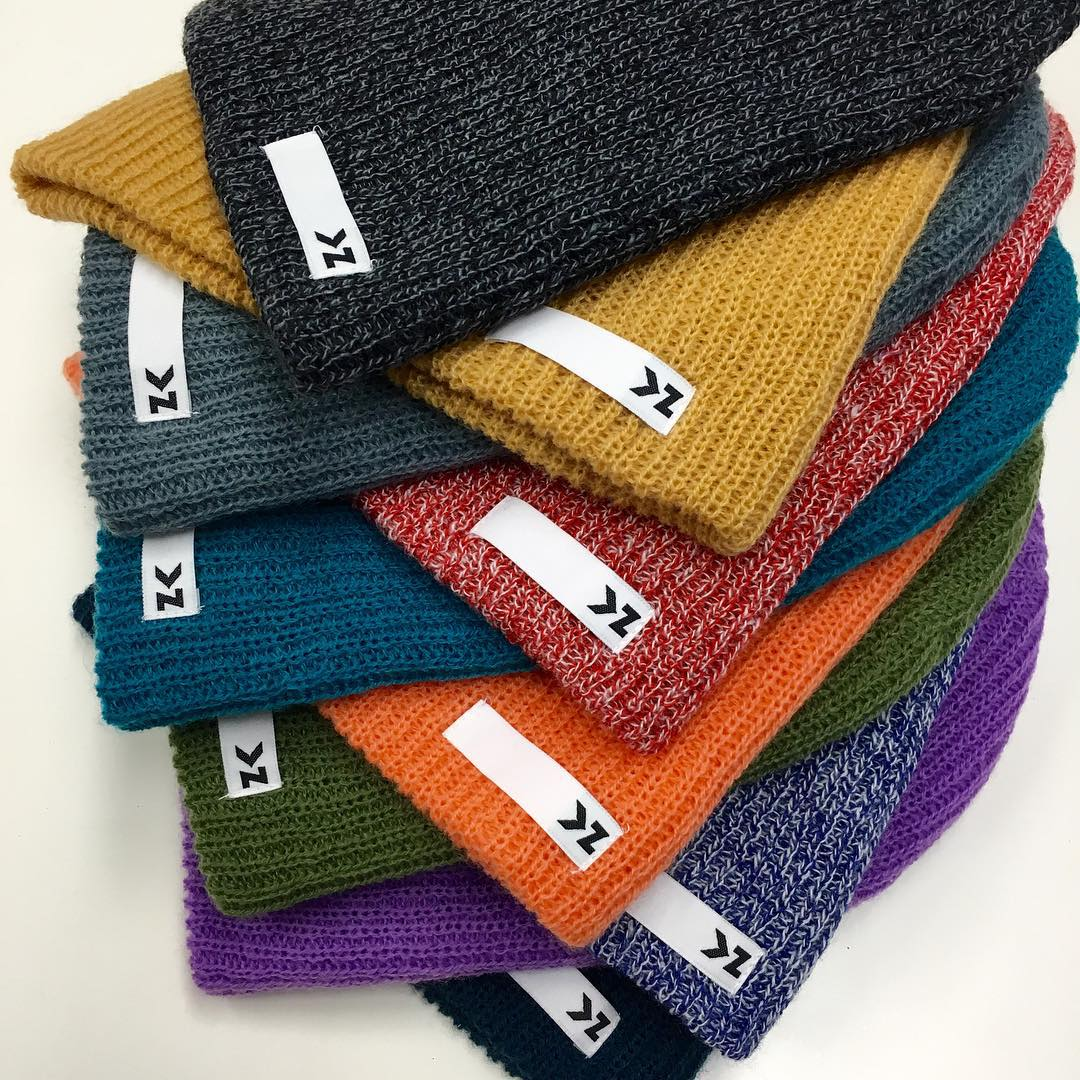 You spoke, and we listened! We are happy to announce that the all new KAMELEONZ BEANIES ARE HERE!! 10 styles: 3 heather blend & 7 solid colors. Each one comes with 2 Kameleonz stickers for your board, computer, car, skis, etc. It's beanie season, so...