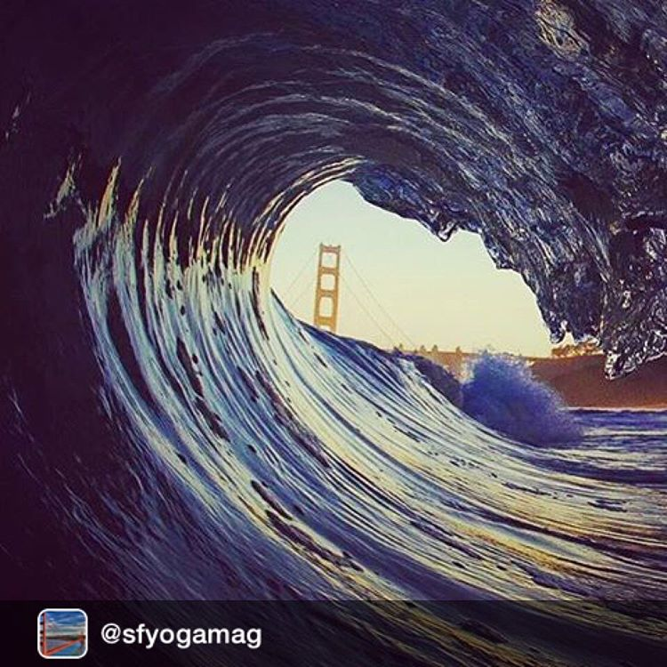 #Repost from @sfyogamag ~ Thank you @_okiino_ for sharing this epic pic from @mob93 @golden_gate_bridge