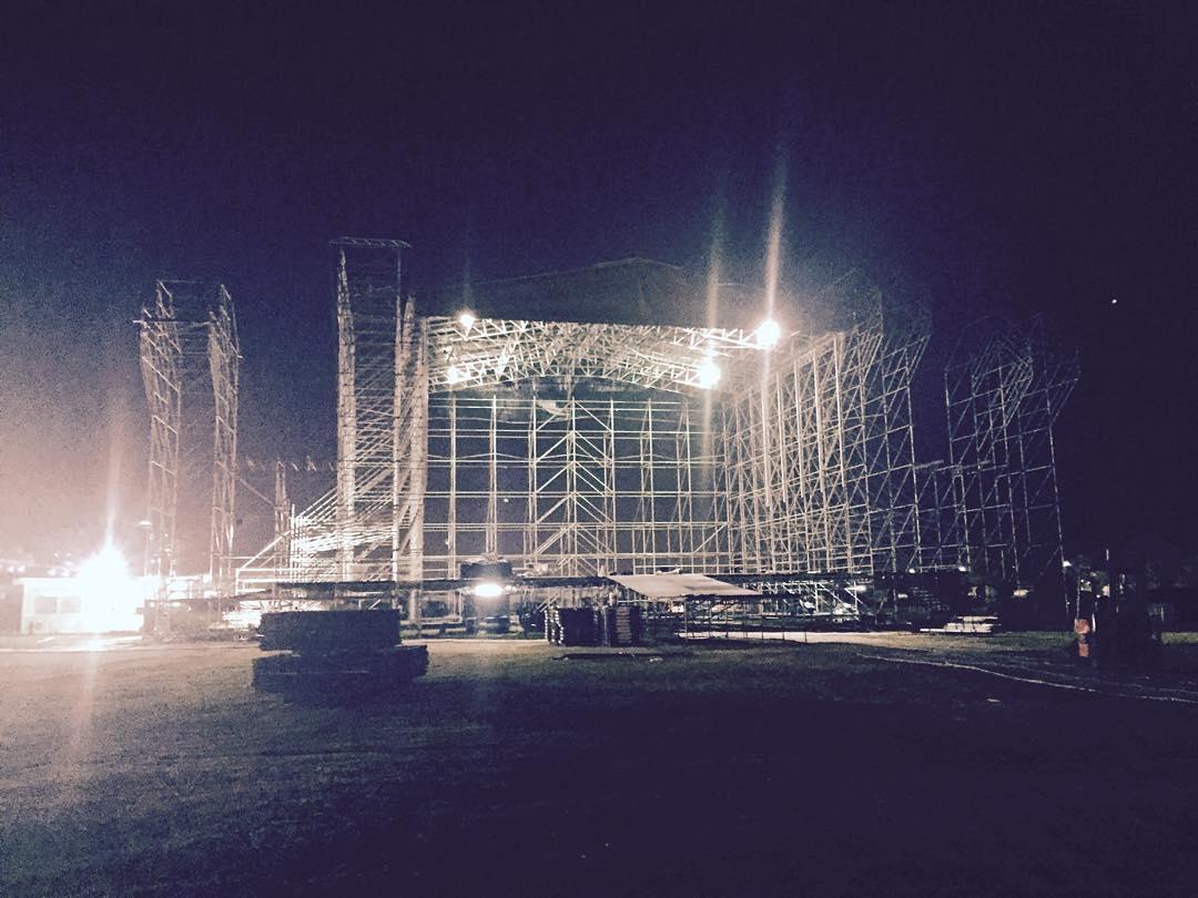 Setup Katy Perry #SBS #Work /cc @showbs