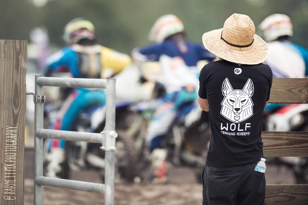 Checking out all the talent this weekend! @barnettmxphotography #wolfmx #moto #motocross #barnettmxphotography #atifamily