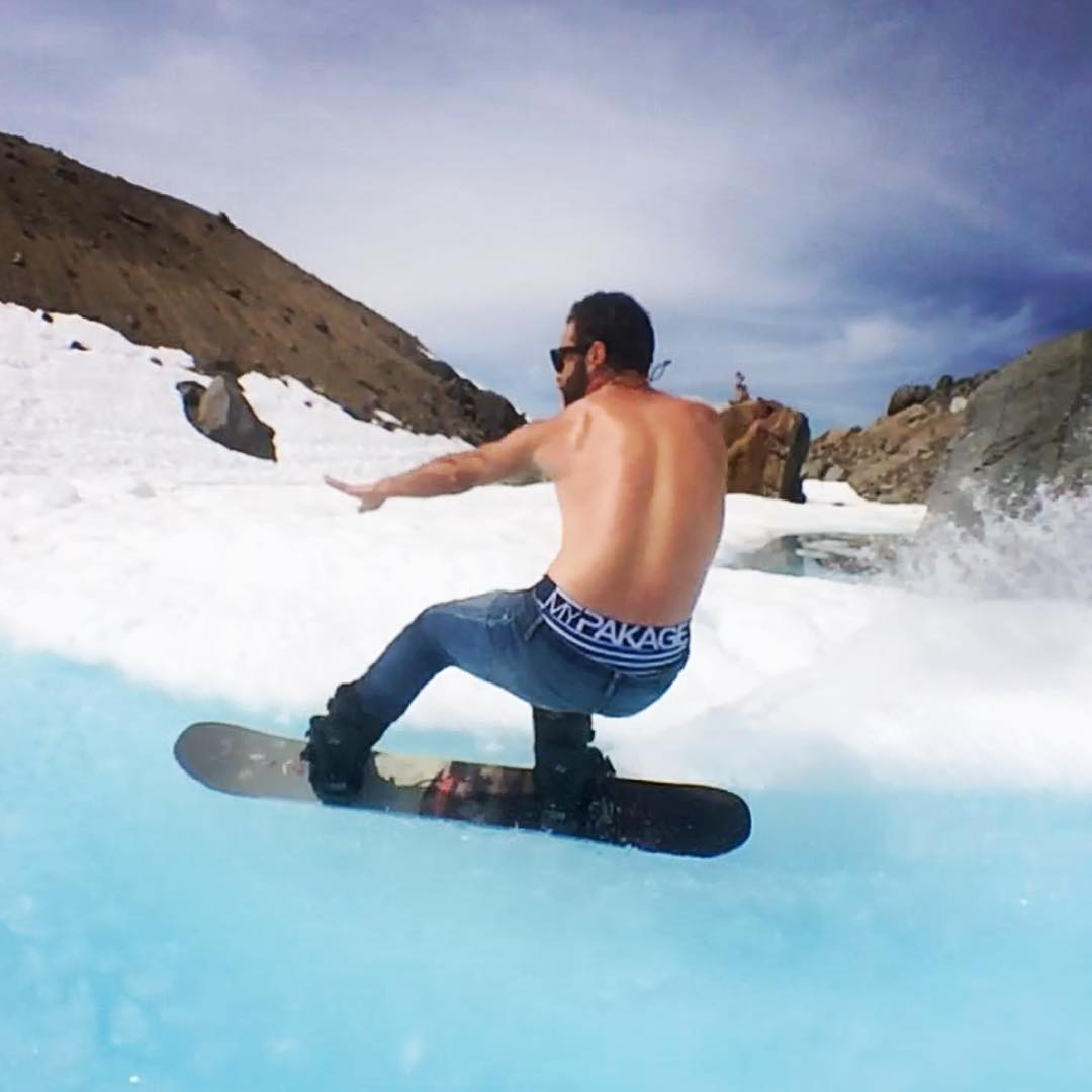 The Action Series keeps you dry in any situation. Even when your snowboarding through a giant glacier pond in your jeans with your shirt off!
