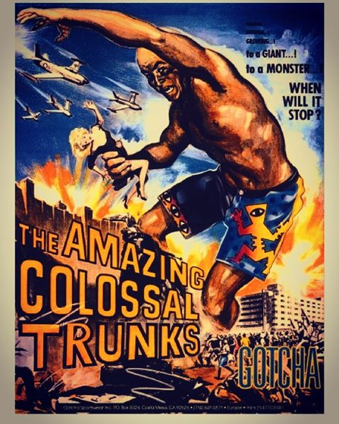The Amazing Colossal Trunks by #gotcha