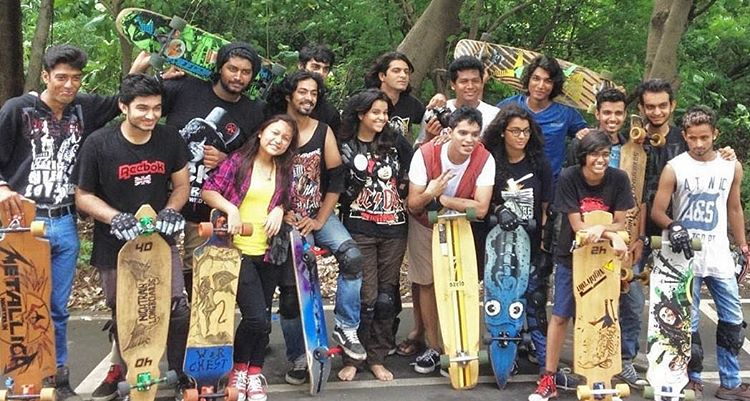 LGC India & Longboard India crew after an intense slide session at their regular spot. We're so stoked on this. Go to the LGC India Facebook page and give them a like for cool updates. Women worldwide unite!  #longboardgirlscrew #womensupportingwomen...