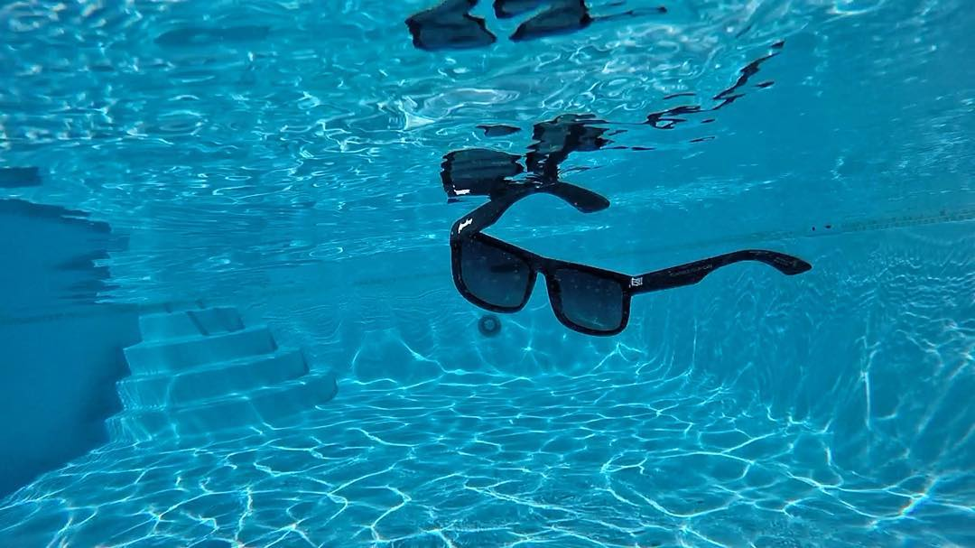 Keep floating on!! It's almost Friday! Sunglasses: Floatable Black Pearl Kameleonz.com