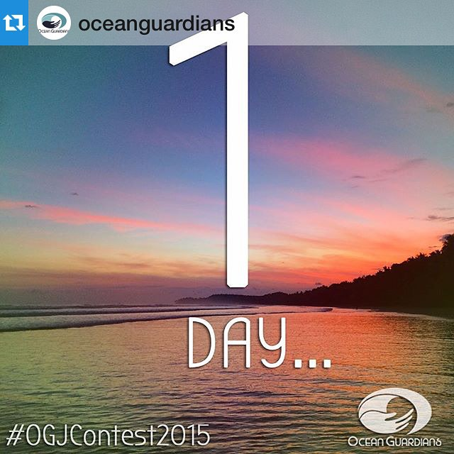 It is nearly upon us! Here is one last thought before tomorrow... We've had several people approach us saying that they don't feel they can enter the #OGJContest2015 because they don't live near the ocean. We just want to clarify that while the name of...