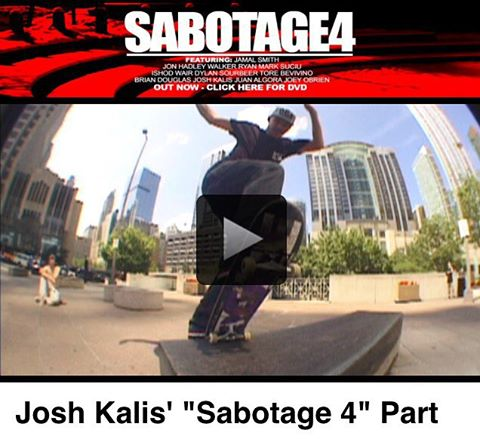 @dgkalis' full part in @sabotageproductions #Sabotage4 video is now up at thrashermagazine.com. Solid gold as always!  #JoshKalis #DCShoes