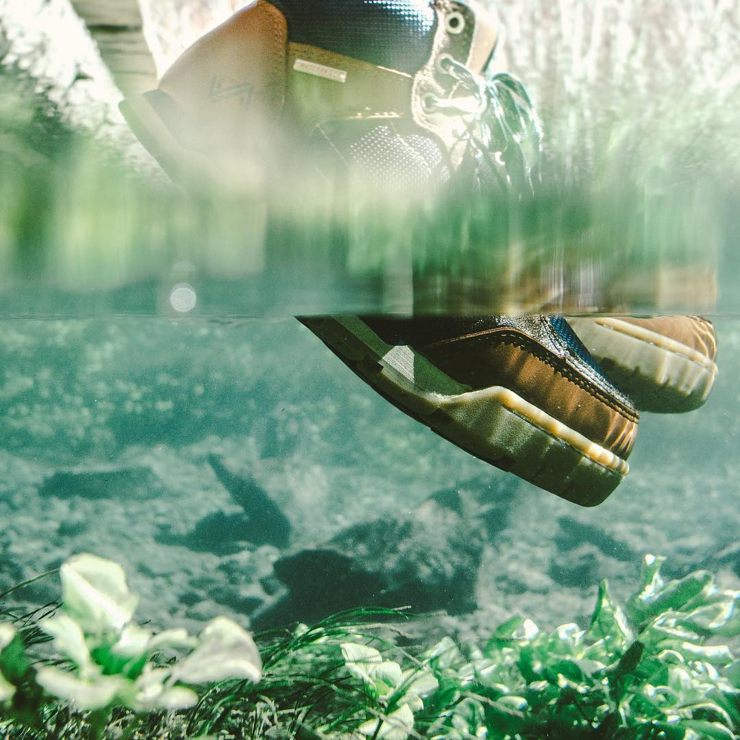At Forsake, it's all about bringing a higher level of versatility to your feet. The waterproof Clyde does just that! #getoutthere #waterproof #sneakerhead #shoeporn