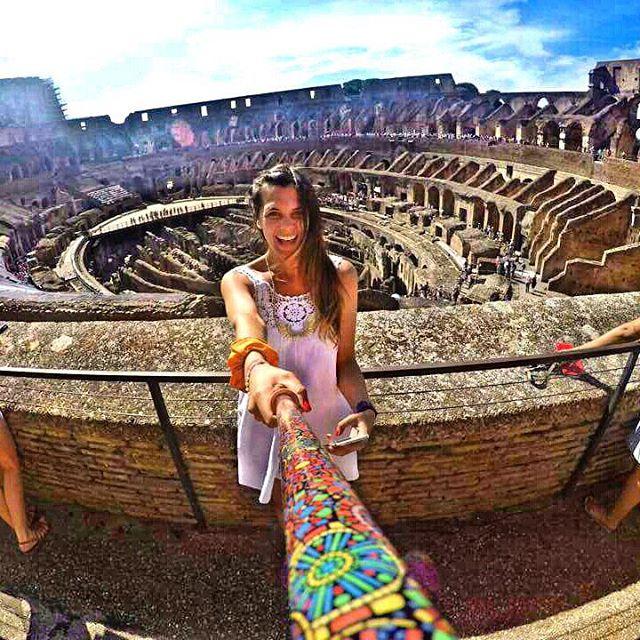 @liisatra con su #ZephyrPole, en el #coliseum !! - Tienda Online!