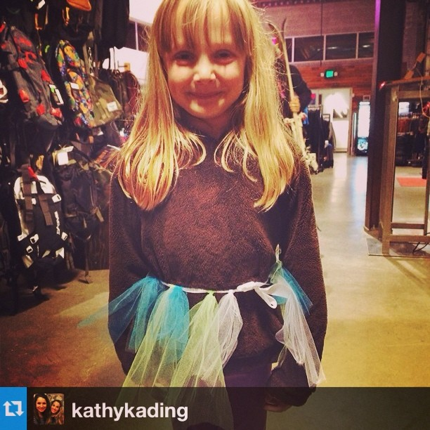 #Repost from @kathykading. This little ripper made her own tutu and is ready to shred Crystal Mountain. Yeah groms! #littlerippers #jumpin #skiing #pnw #shejumps