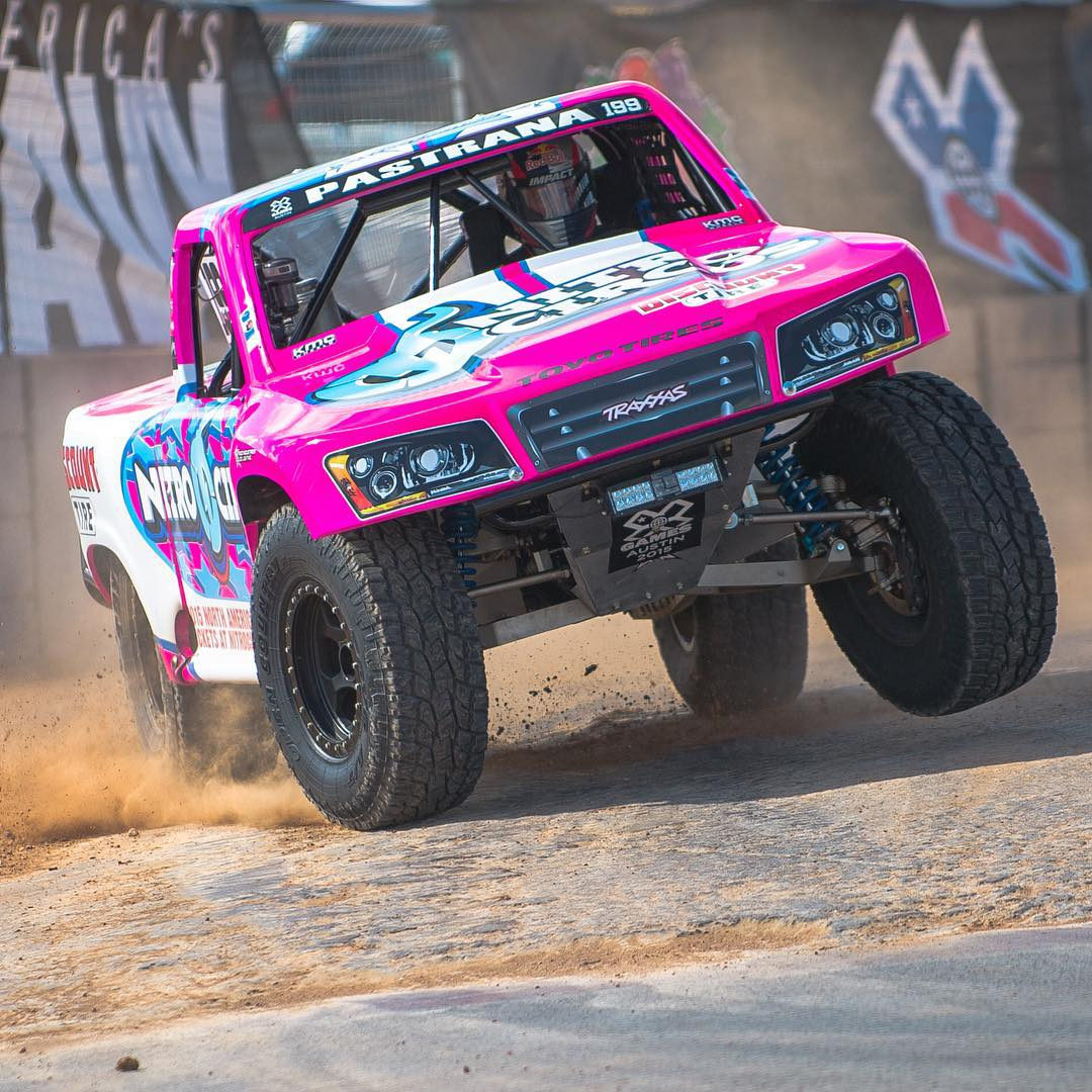 11-time #XGames gold medalist @TravisPastrana is going to race in NASCAR's Truck Series this Saturday in Las Vegas! (