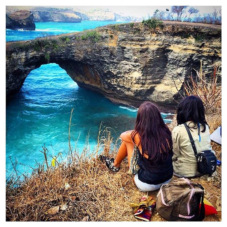 Love this shot of @yulutrip_yuwi exploring Nusa Penida island in the #JJshoe