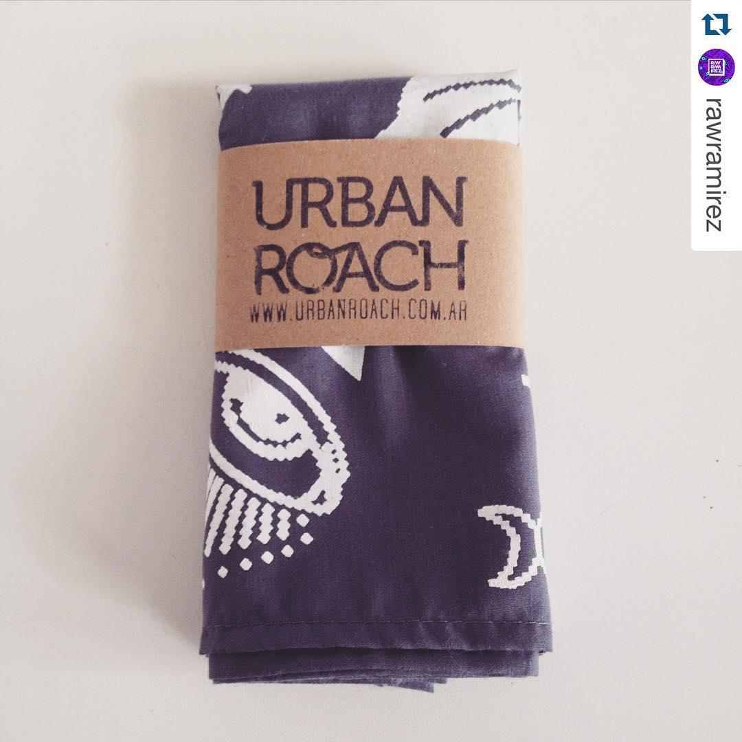 #Repost @rawramirez with @repostapp. ・・・ Gracias a @urban_roach por el regalito!! Visitenlos que tienen lindas cosas!