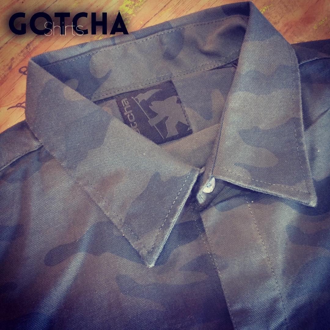 Gotcha #shirts  Hidden Pocket, just in case... ;) // #followus t:@Gotcha_Arg