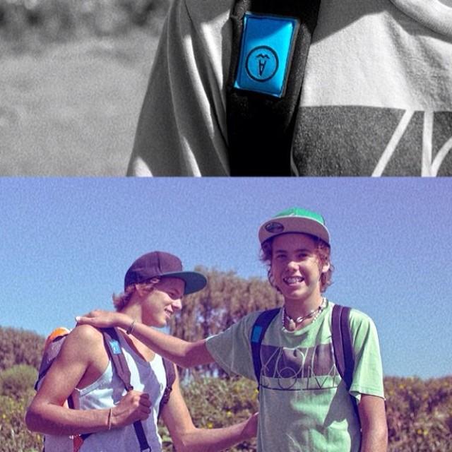 @fransaubidet y @bautisaubidet #backtoschool ! #secortolajoda #summer365 #windsurf #mafiateam #rsx