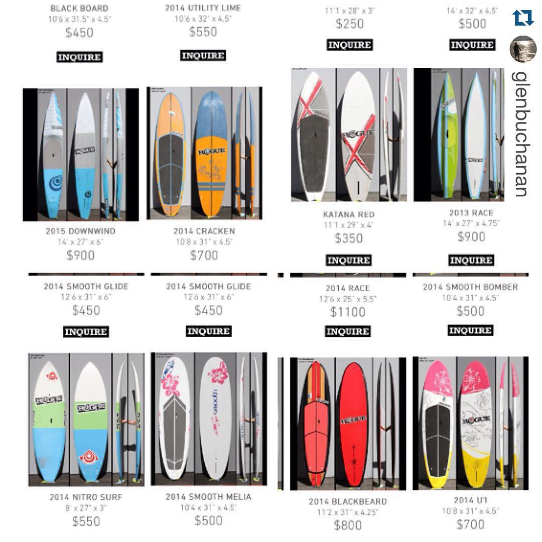 More boards and all priced up! #Repost @glenbuchanan ・・・