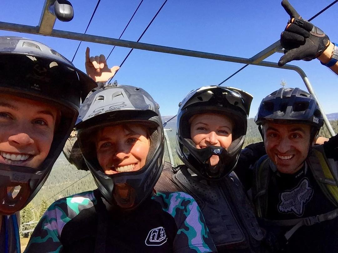 A brown pow day for this crew. This is how we fight. #sendit #senditfoundation #movementislife #cancerfighters