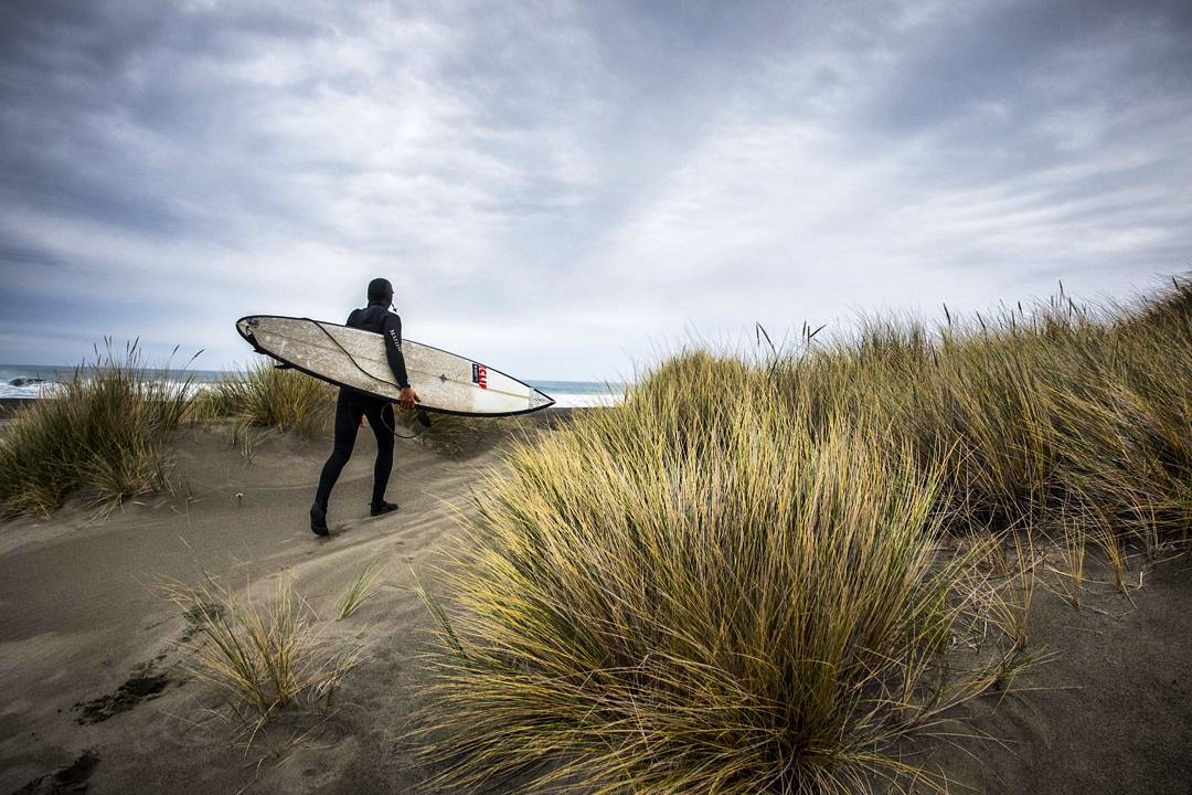 Professional surfer @chaddkonig gave up the warm beaches of southern California and went in search of something more. He was craving a deeper connection with the land and resources. After finding a plot of land in Northern California close to some...