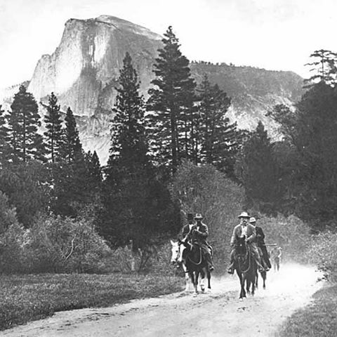 - H B D  Y O S E M I T E - On October 1, 1890, President Benjamin Harrison made Yosemite our third national park, preserving more than 1,500 square miles of forests, meadows and mountains. #radparks #stewardsofparks #yosemite