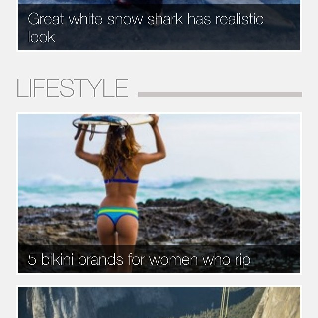 Grindtv  Be sure to check out the Best bikinis for surfing!!!! #miola #surf #surfer #sexybikinisthatstayon #whoohooo #bikinis #beach