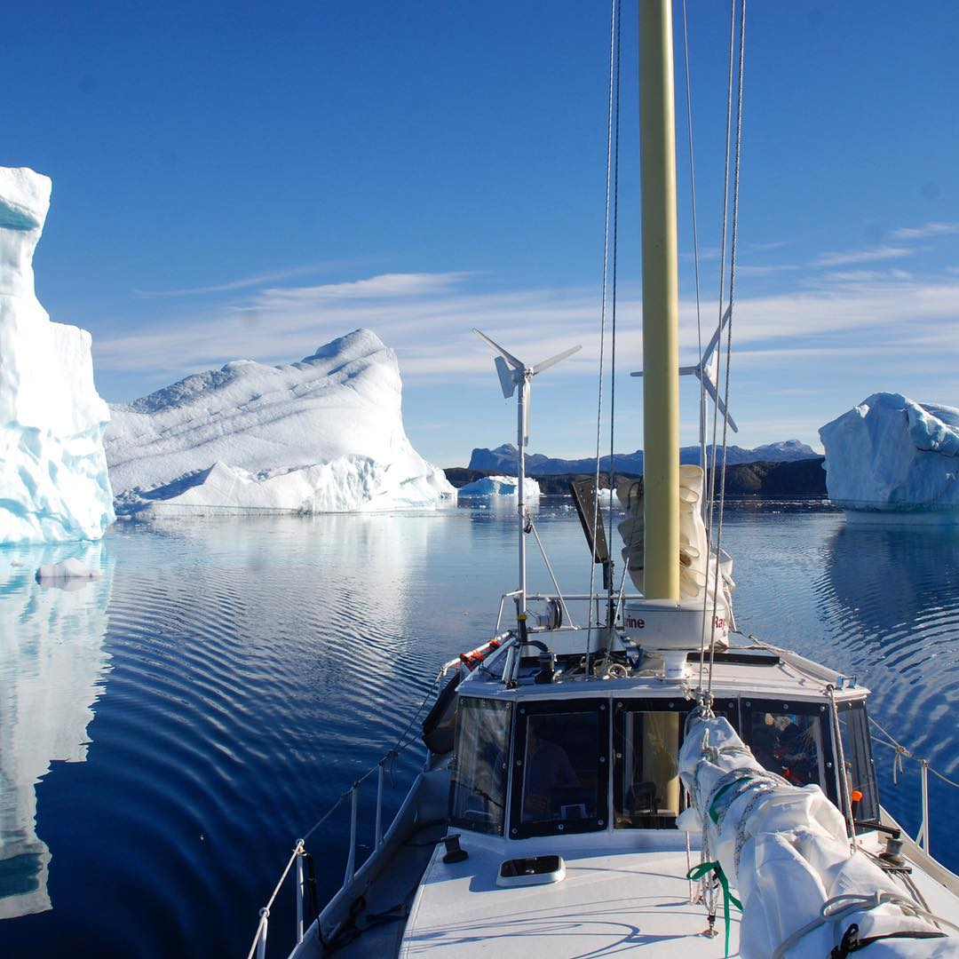 Last year Nicole Trenholm and Matt Rutherford of Ocean Research Project voyaged  from California to Japan, gathering water samples for #ASCMicroplastics. . This year, they sailed around #Greenland's glacial fjords, collecting more samples for us,...