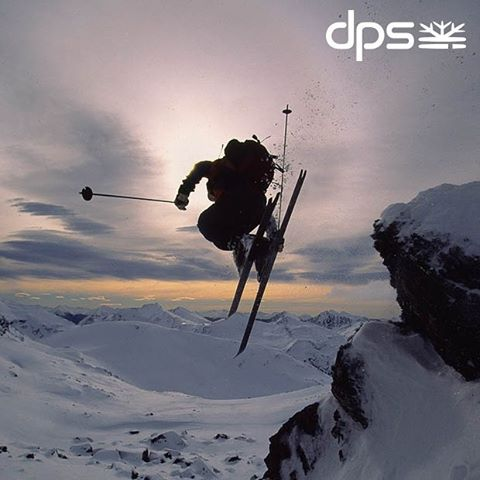 DPS Founder, Stephan Drake playing at the world's Southern most ski area, circa 2005. Photo: @oskar_enander. #dpsroots