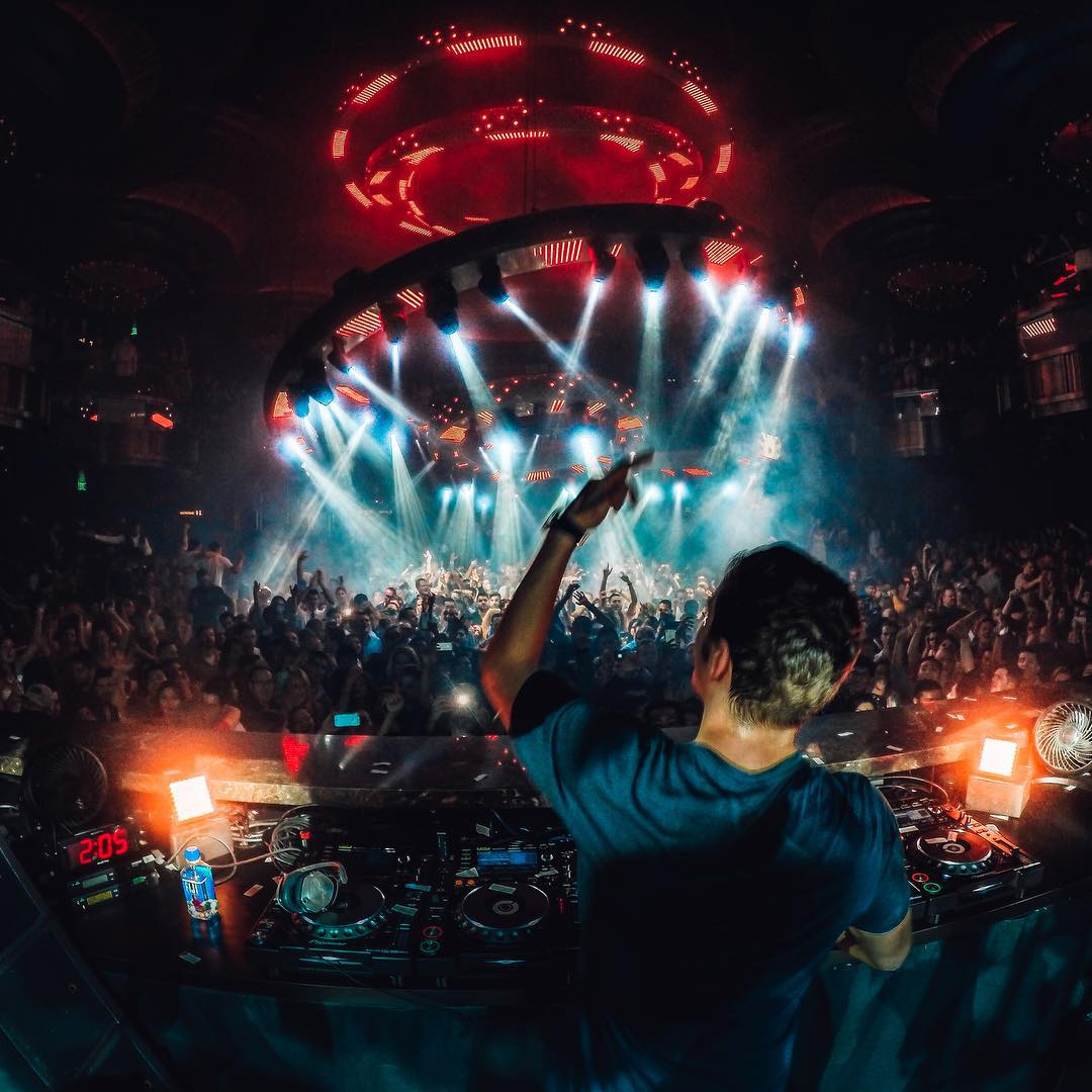 #TBT to last weekend when @martingarrix was fire in Vegas! Image captured by @mishavladimirskiy Show us your best music photos by following the link in our profile. #GoProMusic