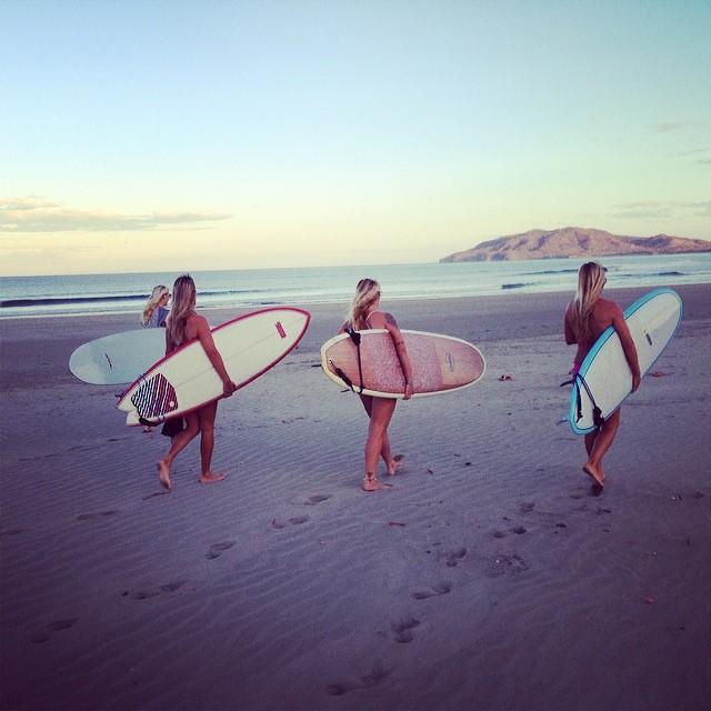 Gone surfing.  #sundayfunday #surf #surferbabe #surfergirl #tamarindo #puravida  #costarica