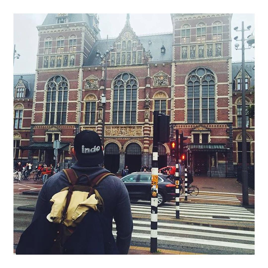 Indo trucker hat in Amsterdam!