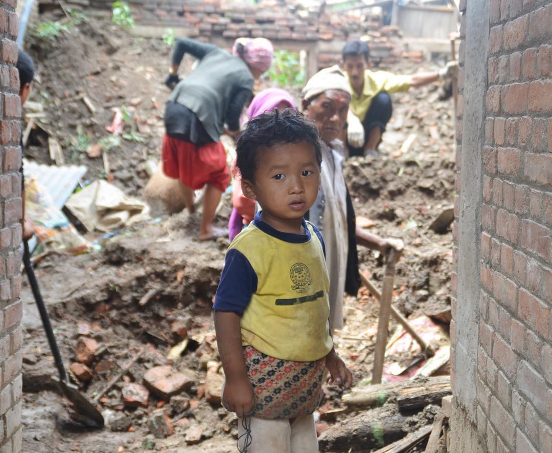 """The team has been doing so well. Nepal is a beautiful country and everyone has loved working with the people here. We've done earthquake clean-up, digging out buried homes and walkways, as well as demolition of cracked and damaged homes that will then..."