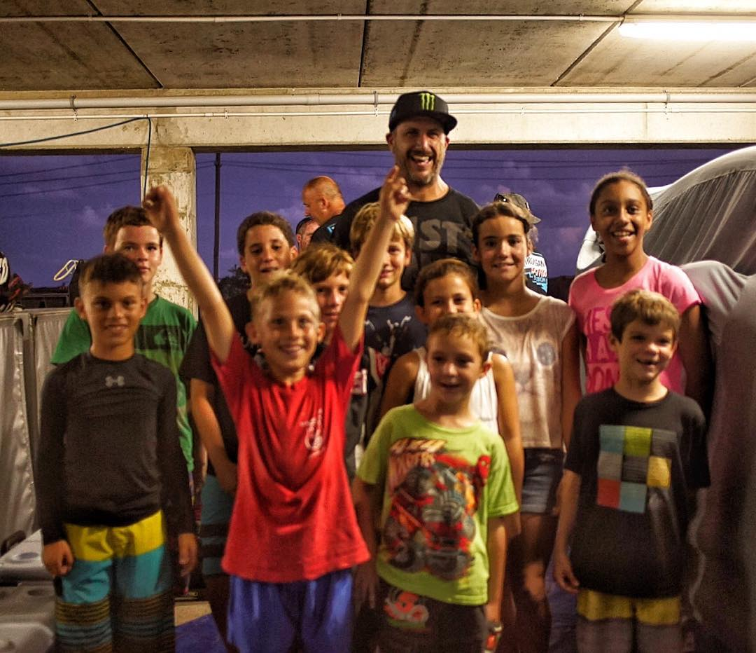 This group of young motorsport heads showed up to my service area last night after their kart race here at Bushy Park Circuit in Barbados. They said they were excited to meet me - but I was just as stoked to meet them. So cool to see and talk to the...