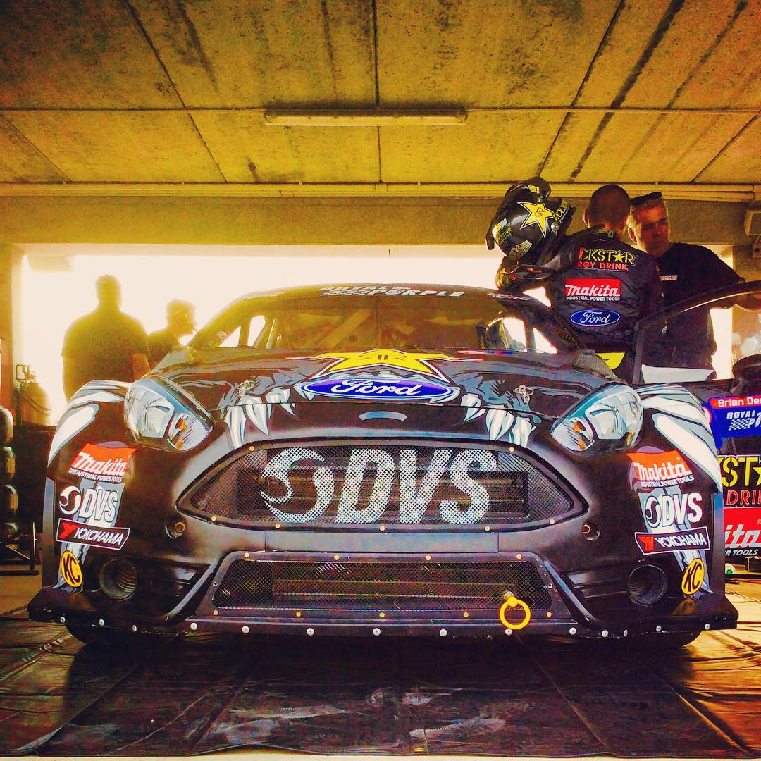 Getting our final practice in for GRC Barbados! Car is feeling great!