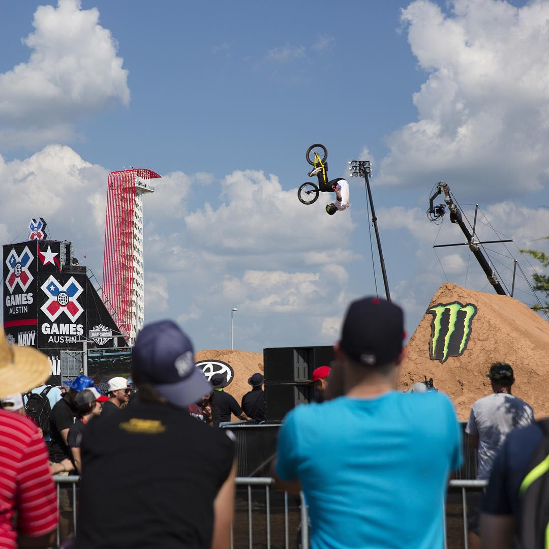 @cota_official, the home of #XGames Austin, was the most Instagrammed location in Texas this year! (