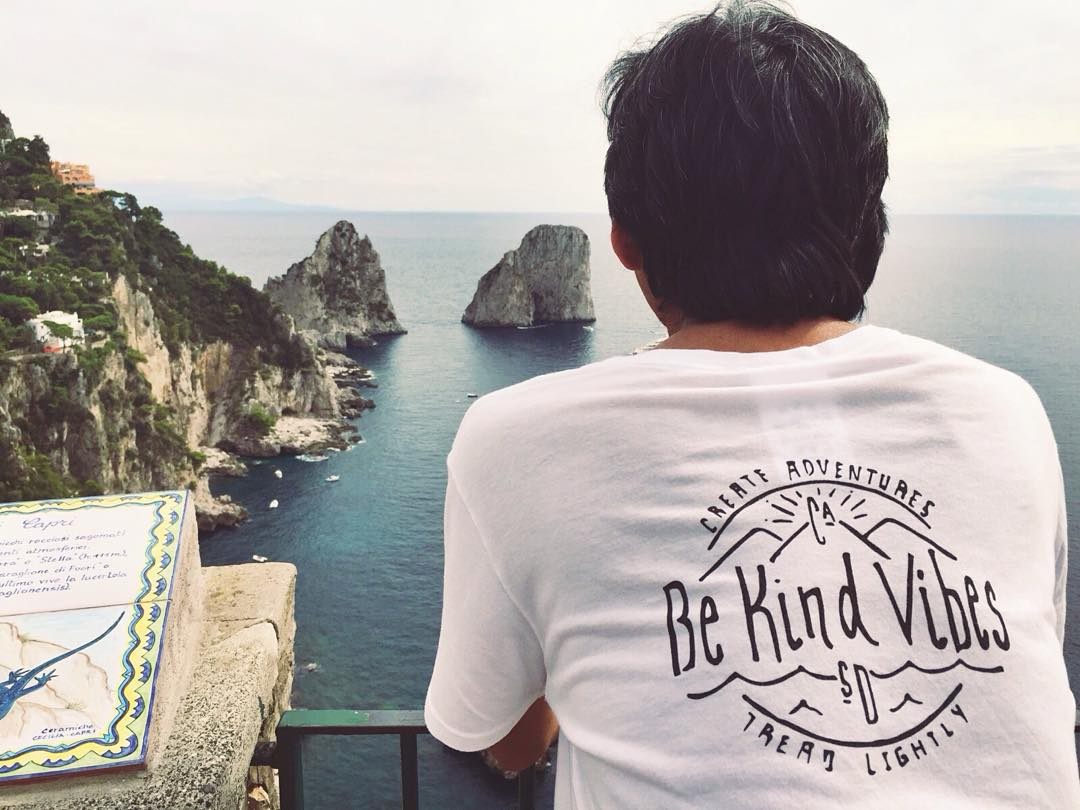 ~ Conscious Adventurer ~  We love seeing photos from the Tribe spreading the Be Kind Vibes all around the world!  Use the hashtag #consciousadventurer while inspiring the Vibes on your travels, and let's grow this Tribe even bigger and stronger...