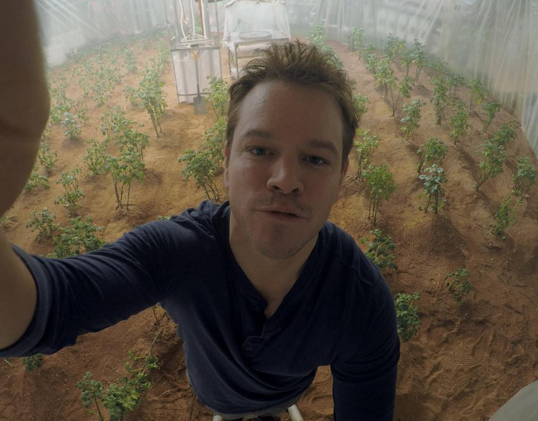 GoPro Featured Photographer - #MarkWatney  About the Shot: Is this thing on? Astronaut, botanist and mechanical engineer Mark Watney here in the Hab setting up my timelapse to study growth rates of my potato crops while stranded on Mars. I have figured...