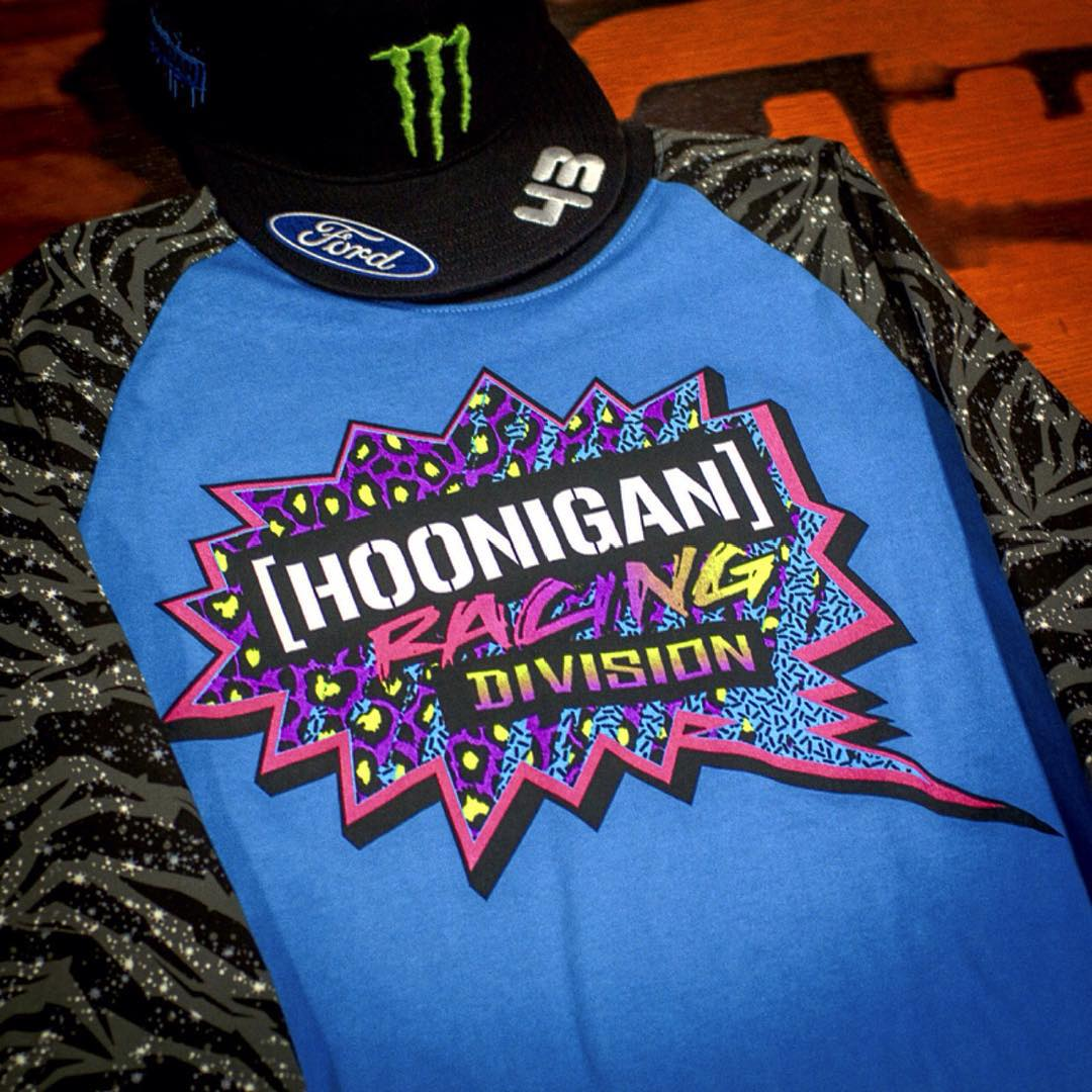 We're so hyped on #RedbullGRC that we decided to drop the all-new @HooniganRacing Division Star Raglan early, just for you. Head over to #hooniganDOTcom to check it out and make sure to watch @kblock43 duke it out for the gold tomorrow!
