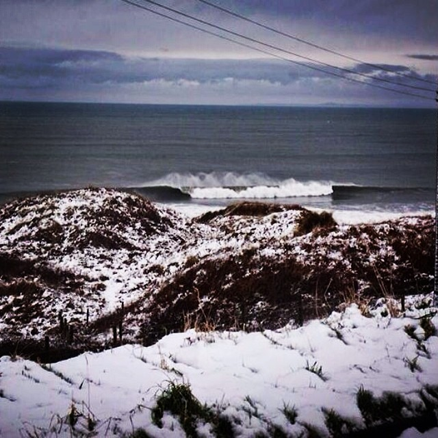Photo of the day:  Winter surf time in Ireland... Lucky that spring is only few weeks away :) #surf #winter #Ireland #goflow