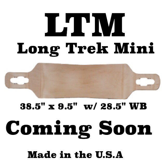 Going up #forsale next week! #ltm #longtrek #deck #longboard #longboarding #push #freeride #carve #cruise #downhill #madeinamerica #maple #good #wood