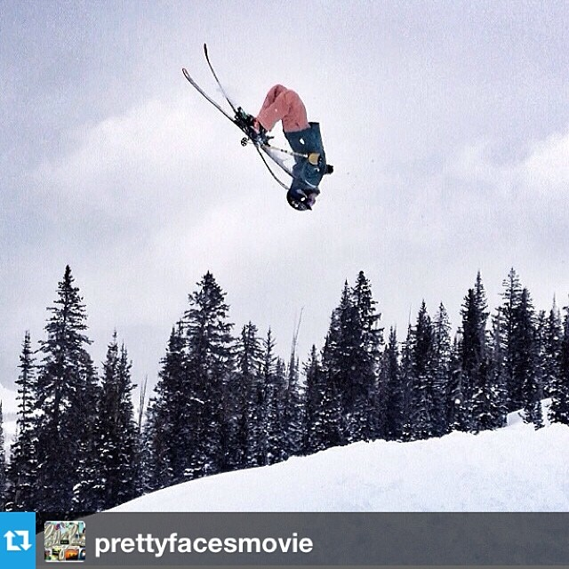 Sisters who shred, @prettyfacesmovie wants your footage! They are looking for everything from ski bloopers, hicks and tricks, to road trips and hut living. They will accept iPhone to #GoPro to DLSR. Check out their website for more info. #winter...