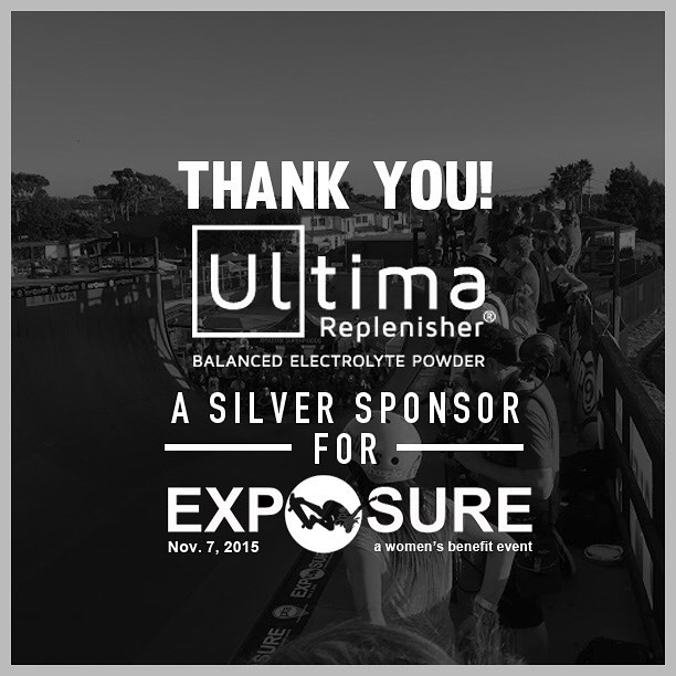 Thank you to @goultima confirmed to be a silver sponsor for Exposure 2015!! There are plenty of partnership opportunities still available, email partnerships@exposureskate.org to find out how you can help empower girls through skateboarding!