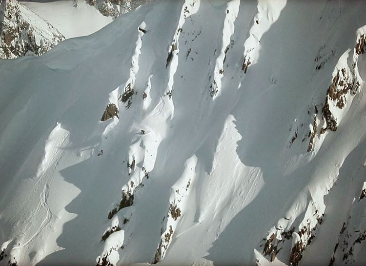 Can you find @wileymiller... What trick does he throw off that spine? Hint: #shapingskiing trailer.