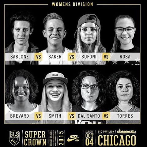 Tune in to the live @streetleague webcast at 11:45 PST tomorrow to witness history in the making! Who will you root for? Post your favorite from @streetleague with the tag #supercrown for a chance to win some goodies! Enjoy every moment, ladies!...