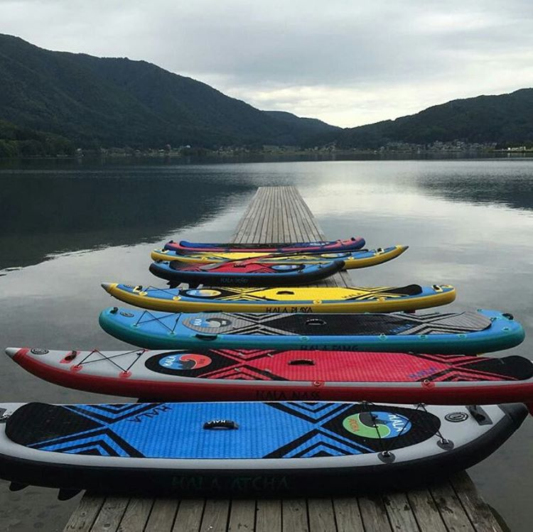 #Repost from @shigerumura  What board are you taking out this weekend?  #halagear #adventuredesigned #whitewaterdesigned  #sup #standuppaddle #Paddleboard #inflatable #isup #inflatablesup #explore #expedition #getoutside #gopaddle