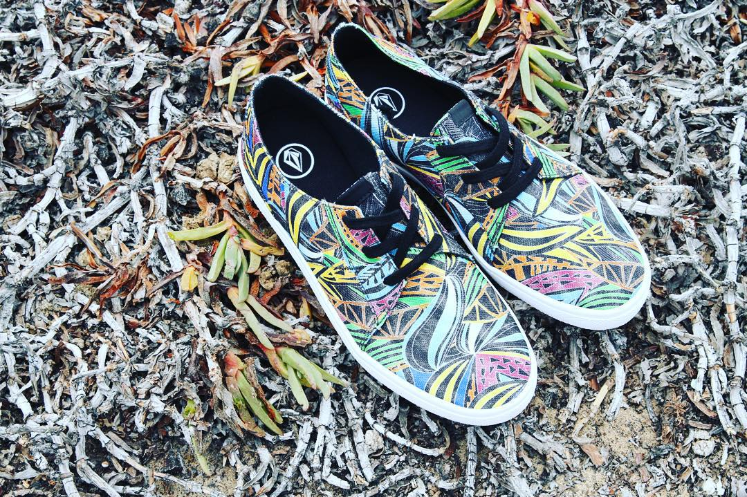 Lo Fi Print Color #Volcomfootwear #SS16 #truetothis